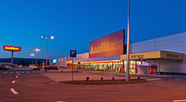 Baumax iese din piața locală după 8 ani de prezență. Sursă foto: Baumax