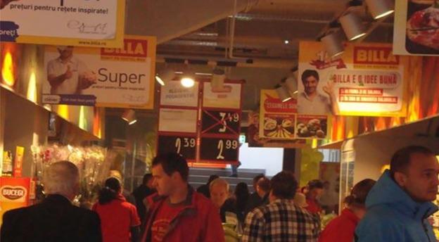 Billa operează o rețea de 85 de magazine în România și aproximativ 90 de locații în Bulgaria. Sursă foto: Billa.