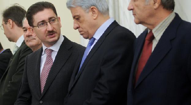 Bogdan Chirițoiu, președintele Consiliului Concurenței (stânga)
