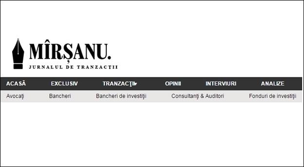 site MIRSANU main