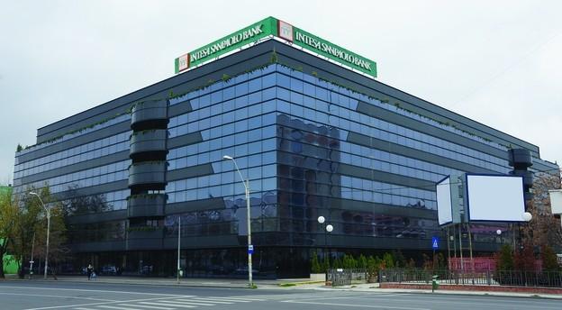 Sediul central al Intesa Sanpaolo România. Sursă foto: Banca.