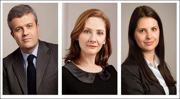 Bruno Leroy, Partener (stânga), Andreea Toma, Partener (centru), şi Mădălina Ivan, avocat senior (dreapta). Sursă foto: Leroy & Asociații.