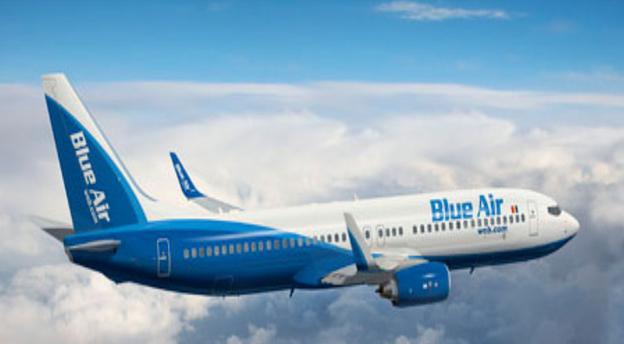 Gândurile de extindere ale Blue Air zboară către Cipru. Sursă foto: Blue Air