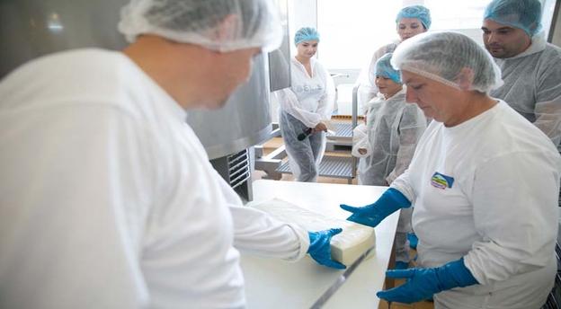 Germanii de la Hochland sunt liderul pieței locale de brânzeturi, cu fabricile de la Sighișoara și Sovata. Sursă foto: Hochland.