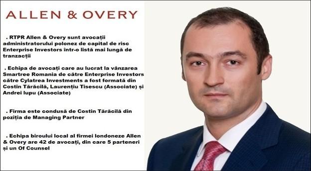 Costin Tărăcilă, Managing Partner RTPR Allen & Overy