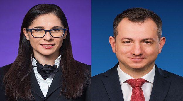 Ileana și Ciprian Glodeanu, parteneri ai biroului Wolf Theiss din București. Sursă foto: Wolf Theiss.
